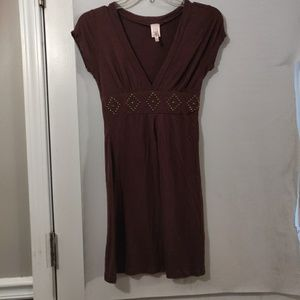 Women's Rue 21 size small brown dress
